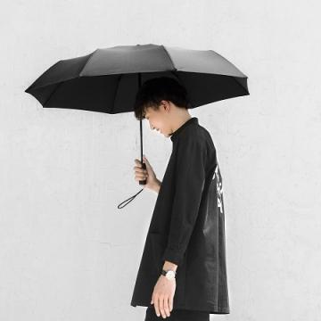 Автоматический зонт Xiaomi Mijia Automatic Umbrella, полный автомат (открытие и закрытие по нажатию кнопки), защита от отскока при закрытии, водоотталкивающая износоустойчивая ткань FONEWR, водоотталкивающий индекс 5, плотность ткани 210Т, покрытие UVoutex FABRICS, теплоизоляция, защита от ультрафиолетовых лучей, сталь SPCC41, алюминиевый сплав 5182, стекловолокно, чёрный, Киев