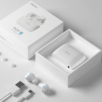 Беспроводная bluetooth-гарнитура Meizu Pop 2 (TW50S), TWS, True Wireless Stereo, bluetooth 5.0, аккумулятор одного наушника: 55 мА/ч, аккумулятор кейса: 350 мА/ч, 8 ч работы от одного заряда, сенсорное управление, система шумоподавления, графеновая фиафрагма, USB Type-C, 20 – 20000 Гц, влагозащита IPX5, Киев