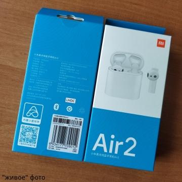 Беспроводная bluetooth-гарнитура Xiaomi Air 2, Mi True Wireless Earphones 2, Mi Airdots Pro 2, вкладыши, 14,2-мм динамические излучатели с подвижной катушкой, LHDC / SBC / AAC, bluetooth 5.0, BLE / HSP / HFP / A2DP / AVRCP, радиус действия: 10 м, 32 Ом, двойной микрофон с системой активного шумоподавления, сенсорное управление, голосовое управление, инфракрасные оптические сенсоры, 4 ч работы от одного заряда, до 14 ч при подзарядке от кейса, быстрая зарядка, время зарядки 1 ч, USB Type-C, IPX4, Киев