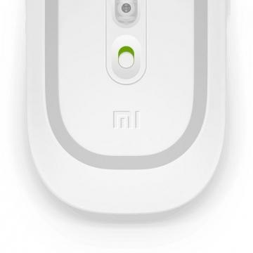 """Беспроводная компьютерная мышь Xiaomi Wireless Mouse 2, беспроводной интерфейс с подключением адаптера к порту USB, питание от 1 пальчиковой батарейки АА, низкое энергопотребление (работает 1 год от 1 батарейки), точное позиционирование, 1200 dpi, 2,4 ГГц, 500 млн. кликов, кнопка """"назад"""", поверхность мыши не скользит, устойчива к царапинам и загрязнению, работает на любой поверхности, чёрный, белый, Киев"""