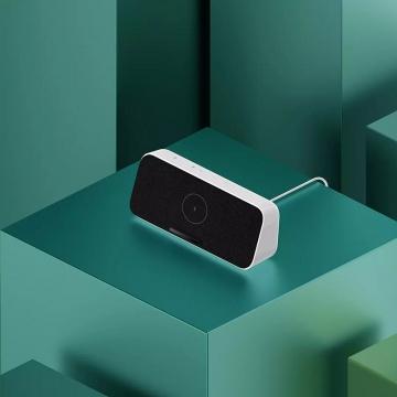 Bluetooth колонка + беспроводное зарядное устройство с поддержкой быстрой зарядки 30 Вт и NFC Xiaomi Wireless Charging Bluetooth Speaker, стереодинамики, мощность: 2 * 5 Вт, объём акустической камеры 280 куб. см, двойной усилитель низких частот, bluetooth 5.0, NFC, встроенный микрофон с применением технологии подавления эхо, можно общаться по громкой связи, протокол беспроводной зарядки: Qi, совместим с большинством устройств, возможность зарядки смартфона в защитном чехле, белый, Киев