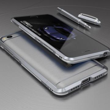 Чехол-бампер Luphie (серия Double Colours Sword) для смартфона Xiaomi Mi5S, авиационный анодированный алюминий, алюминиевый бампер, двухцветный противоударный бампер из двух частей, скрученных двумя винтиками, в комплекте отвёртка и 2 запасных винтика, тканевые накладки на внутренней поверхности рамы для защиты корпуса смартфона, чёрный + красный, чёрный + фиолетовый, серый + серебряный, золотой + серебряный, красный + серебряный, голубой + серебряный, Киев