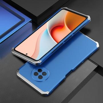 Чехол Element Case Solace Element Box для смартфона Xiaomi Mi10T Lite / Xiaomi Redmi Note 9 Pro 5G (China), противоударный бампер, корпус из поликарбоната, алюминиевые накладки, бампер состоит из трёх частей, скрученных четырьмя винтиками, в комплект входит отвёртка и 2 запасных винтика, резиновые прокладки на внутренней поверхности рамы для защиты корпуса смартфона со встроенными кнопками регулировки громкости и включения / выключения, фабричная упаковка, Киев