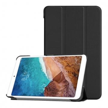 Чехол-книжка для планшетного компьютера Xiaomi Mi Pad 4, MiPad 4, противоударный чехол, горизонтальный флип, смарт-чехол, экран включается при открытии чехла и выключается при закрытии, поликарбонат, полиуретан, чехол-подставка для просмотра видео, чёрный, синий, Киев