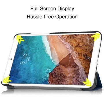 Чехол-книжка для планшетного компьютера Xiaomi Mi Pad 4 Plus, MiPad 4 Plus, противоударный чехол, горизонтальный флип, смарт-чехол, экран включается при открытии чехла и выключается при закрытии, поликарбонат, полиуретан, чехол-подставка для просмотра видео, чёрный, синий, Киев