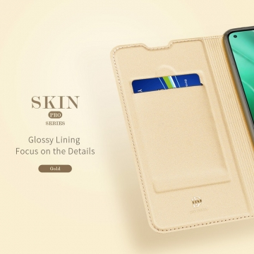 Чехол-книжка Dux Ducis для смартфона Xiaomi Mi10T / Xiaomi Mi10T Pro / Xiaomi Redmi K30S, горизонтальный флип, искусственная кожа, накладка из термополиуретана, встроенные магниты для фиксации чехла в закрытом и открытом состоянии, отделение для платёжных карт / визиток, возможность трансформации чехла в подставку для просмотра видео, чёрный, синий, золотой, розовый, Киев