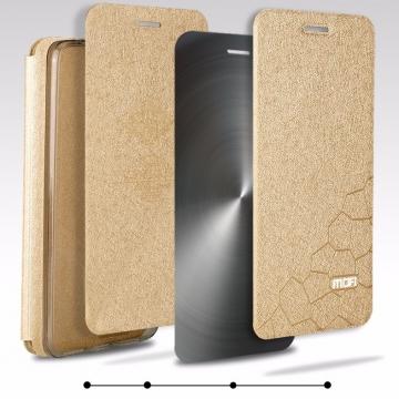 Чехол-книжка MOFI для смартфона Xiaomi Mi5S, противоударный чехол, горизонтальный флип, силиконовая накладка, флип из искусственной кожи, металлическая пластина внутри флипа, смарт-чехол (при закрытии чехла экран выключается), sleep / wake, возможность трансформации чехла в подставку для просмотра видео, чёрный, синий, золотой, серебряный, розовый, Киев