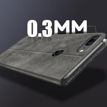 Чехол-книжка MOFI для смартфона Xiaomi Mi8 Lite, противоударный чехол, горизонтальный флип, силиконовая накладка, флип из искусственной кожи, металлическая пластина внутри флипа, возможность трансформации чехла в подставку для просмотра видео, чёрный, серый, синий, красный, жёлтый, светло-коричневый, Киев