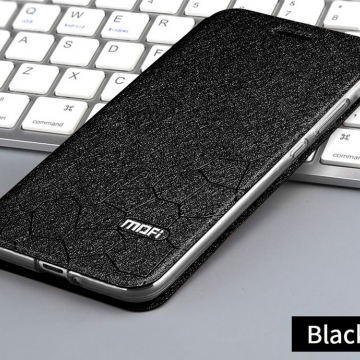 Чехол-книжка MOFI для смартфона Xiaomi Redmi 6, противоударный чехол, горизонтальный флип, силиконовая накладка, флип из искусственной кожи, металлическая пластина внутри флипа, возможность трансформации чехла в подставку для просмотра видео, чёрный, синий, золотой, розовый, Киев
