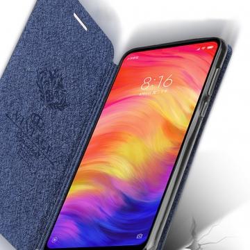 Чехол-книжка MOFI для смартфона Xiaomi Redmi 8, противоударный чехол, горизонтальный флип, силиконовая накладка, флип из искусственной кожи, металлическая пластина внутри флипа, возможность трансформации чехла в подставку для просмотра видео, чёрный, синий, золотой, розовый, красный, Киев