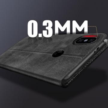 Чехол-книжка MOFI для смартфона Xiaomi RedMi Note 5 / RedMi Note 5 Pro, противоударный чехол, горизонтальный флип, силиконовая накладка, флип из искусственной кожи, металлическая пластина внутри флипа, возможность трансформации чехла в подставку для просмотра видео, чёрный, серый, синий, красный, жёлтый, светло-коричневый, Киев
