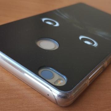 Чехол-накладка для смартфона Xiaomi Mi4S (с рисунком), бампер, пластик, лазерная печать, бабочка, леопард, кошка, кот, морская звезда, эйфелева башня, японка, японские девушки, Киев