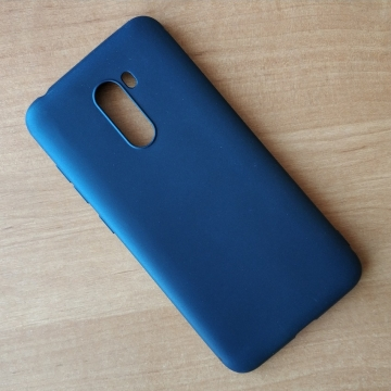 Чехол-накладка для смартфона Xiaomi Pocophone F1 / Xiaomi Poco F1, противоударный бампер, термополиуретан TPU, эластичность, устойчивость к растяжению, устойчивость к царапинам, накладки на кнопки регулировки громкости и включения / выключения, двойное отверстие для крепления ремешка, чёрный, синий, красный, розовый, белый (полупрозрачный), Киев
