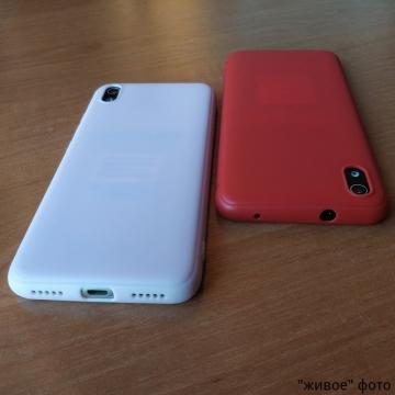 Чехол-накладка для смартфона Xiaomi Redmi 7A, противоударный бампер, термополиуретан TPU, эластичность, устойчивость к растяжению, устойчивость к царапинам, накладки на кнопки регулировки громкости и включения / выключения, двойное отверстие для крепления ремешка, чёрный, синий, красный, розовый, белый (полупрозрачный), Киев