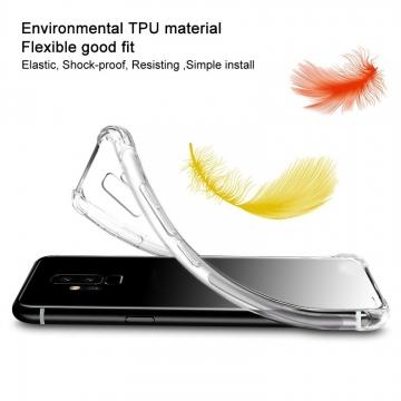 Чехол-накладка iMak (Airbag Version) + плёнка для смартфона Xiaomi Mi Max 3, противоударный бампер, силиконовый чехол, прозрачный термополиуретан, чёрный гладкий термополиуретан, чёрный шероховатый термополиуретан, TPU, логотип «iMak», накладки на кнопки регулировки громкости и включения / выключения, дополнительная защита углов смартфона «воздушными подушками», защитная плёнка повышенной прочности, Киев