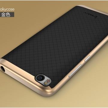 Чехол-накладка iPaky для смартфона Xiaomi Mi5S, противоударный бампер, термополиуретан, резина, пластик, чёрный, тёмно-серый, серебяный, золотой, розовое золото, Киев