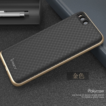 Чехол-накладка iPaky для смартфона Xiaomi Mi6, противоударный бампер, термополиуретан, резина, пластик, чёрный, тёмно-серый, серебряный, золотой, розовое золото, Киев