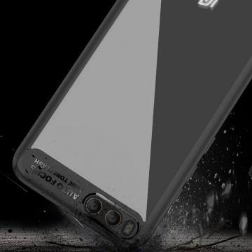 Чехол-накладка iPaky (серия Letou) для смартфона Xiaomi Mi6, рама из термополиуретана, TPU, акриловая задняя панель, прозрачный пластик, сочетание жёсткости с гибкостью, накладки на кнопки регулировки громкости и включения / выключения, чёрный, синий, красный, Киев