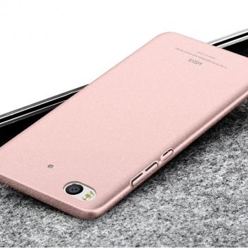 Чехол-накладка MSVII для смартфона Xiaomi Mi5S, бампер, шероховатый пластик, гладкий пластик, чёрный, синий, золотой, розовый, розовое золото, серый, красный, Киев