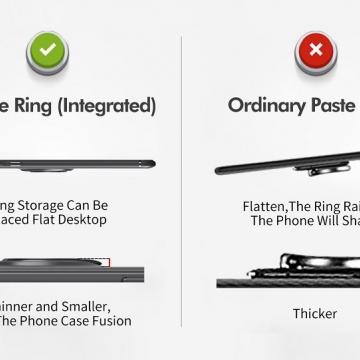 Чехол-накладка с магнитным кольцом для смартфона Xiaomi Redmi 7A, противоударный чехол, термополиуретан (TPU), накладки на кнопки регулировки громкости и включения / выключения, несъёмное кольцо для пальца, которое также можно использовать как подставку при просмотре видео, угол поворота кольца 360 градусов, угол наклона кольца 150 градусов, металлический сердечник крепится к автомобильным магнитным держателям, чёрный, синий, красный, розовый, Киев