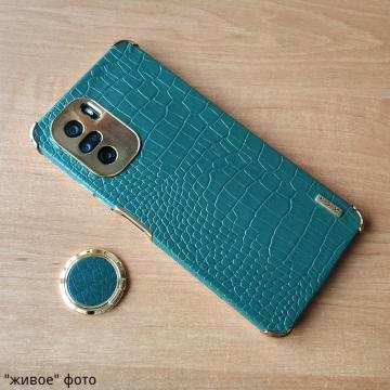 Чехол-накладка X-Case с покрытием под крокодиловую кожу для Xiaomi Poco F3 / Xiaomi Redmi K40 / Xiaomi Redmi K40 Pro / Xiaomi Mi 11i, противоударный бампер, искусственная кожа, рама из пластика, защита углов смартфона «воздушными подушками», в заднюю панель встроена накладка для защиты блока камер, накладка на кнопки регулировки громкости, двойное отверстие для крепления ремешка, металлический шильдик X-Case, в комплект входит съёмное кольцо для пальца, чёрный, красный, зелёный, белый, коричневый, Киев