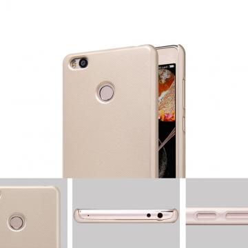 Чехол Nillkin + плёнка для Xiaomi Mi4S, чехол-накладка, бампер, рифлёный пластик, чёрный, белый, золотой, красный, Киев