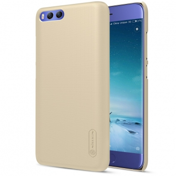 Чехол Nillkin + плёнка для Xiaomi Mi6, противоударный бампер, чехол-накладка, пластик, чёрный, белый, золотой, красный, коричневый, Киев
