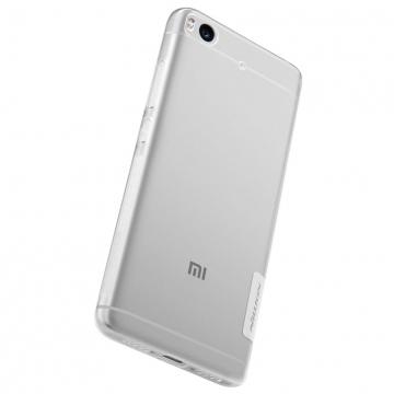 Чехол Nillkin (серия Nature) для смартфона Xiaomi Mi5S, бампер, силикон, термополиуретан, TPU, прозрачный, Киев
