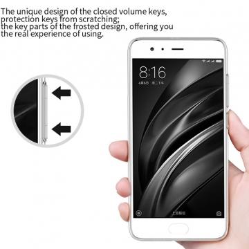 Чехол-накладка Nillkin (серия Nature) для смартфона Xiaomi Mi6, противоударный бампер, силикон, термополиуретан, TPU, прозрачный, Киев
