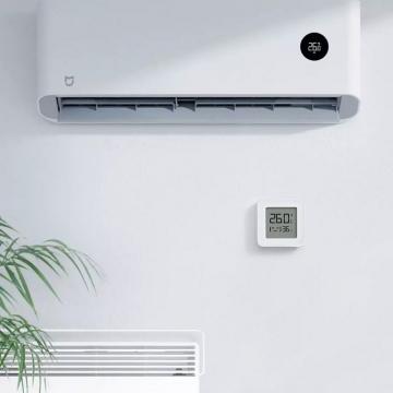 Электронный термометр / гигрометр Xiaomi Mijia Bluetooth Thermometer 2, LYWSDO3MMC, LCD дисплей, мониторинг температуры и влажности воздуха в помещении, швейцарские сенсоры измерения температуры и влажности (Sensirion), Bluetooth 4.2 BLE, работает с приложением Mijia App (Mi Home), можно включить в разные сценарии системы умного дома через Mijia Bluetooth Gateway, статистика температуры и влажности, CR2032, белый, Киев