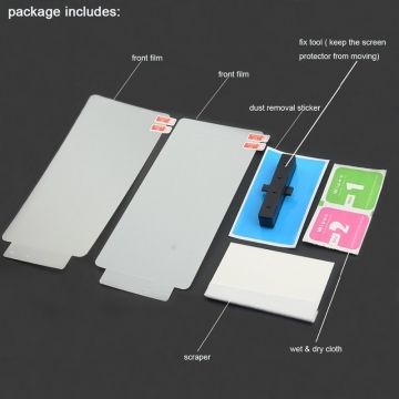 Гидрогелевая защитная плёнка для смартфона Xiaomi Redmi K20 / Redmi K20 Pro / Xiaomi Mi9T / Xiaomi Mi9T Pro, в комплекте 2 плёнки, бронированная плёнка, полноэкранная плёнка (закрывает экран смартфона полностью), клеится к экрану всей поверхностью, клеится без использования жидкости, самовосстанавливающаяся плёнка, не влияет на чувствительность сенсора, не искажает цвета, олеофобное покрытие, пластиковый держатель для точного позиционирования плёнки на экране, шпатель для разглаживания плёнки, Киев