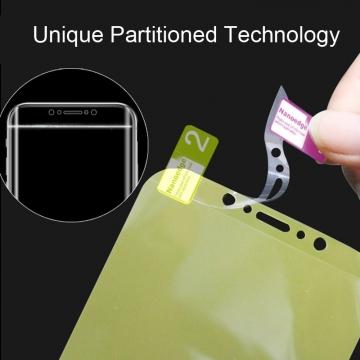 Гидрогелевая защитная плёнка для смартфона Xiaomi RedMi Note 5 / RedMi Note 5 Pro, в комплект входят 2 плёнки, бронированная плёнка, полноэкранная плёнка (закрывает экран смартфона полностью), клеится к экрану смартфона всей поверхностью, клеится без использования жидкости, самовосстанавливающаяся плёнка, не влияет на чувствительность сенсора, не искажает цвета, олеофобное покрытие, пластиковый держатель для точного позиционирования плёнки на экране, шпатель для разглаживания плёнки, Киев