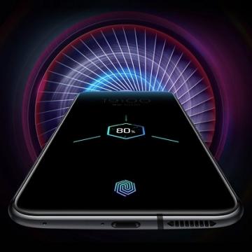 Игровой смартфон ZTE Nubia Red Magic 5G с поддержкой CDMA, 2 SIM-карты, 4G LTE, 5G, Snapdragon 865, Game Space 2.1, игровые триггеры, 8 Гб RAM + 128 Гб ROM, экран 6,65'' AMOLED, частота 144 Гц, Gorilla Glass, тройная основная камера 64 МП, аккумулятор 4500 мА/ч, быстрая зарядка 55 Вт, водяное охлаждение + турбо вентилятор, стереодинамики, сканер отпечатков пальцев, Wi-Fi 6, Bluetooth 5.1, GPS, OTG, NFC Google Pay бесконтактные платежи, USB Type-C, Android 10, УКРАЇНСЬКА МОВА, РУССКИЙ ЯЗЫК, Google Play, Киев