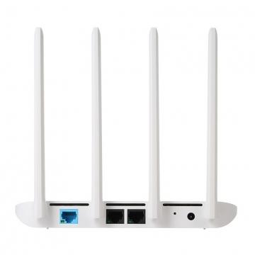 Маршрутизатор (роутер) Xiaomi Mi Wi-Fi Router 4, 4 антенны, процессор MediaTek MT7621A, оперативная память 128 Гб, внутренняя память 128 Гб, Wi-Fi 802.11a/b/g/n/ac, 1 гигабитный порт LAN 10/100/1000, 1 гигабитный порт WAN 10/100/1000, WPA-PSK,WPA-PSK2, поддержка Web, Windows, Android, MacOS, iOS, дистанционное управление, белый, Киев