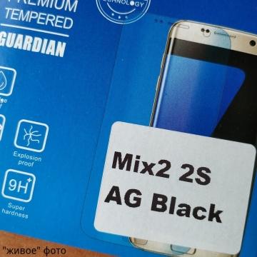 Матовое защитное стекло AG Matte Glass для смартфона Xiaomi Mi Mix 2 / Xiaomi Mi Mix 2S, показатель по минералогической шкале твёрдости 9H, в 3 раза более устойчиво к царапинам, чем обычная защитная плёнка, не влияет на чувствительность сенсора, антибликовое покрытие, олеофобное покрытие, набор для подклеивания краёв защитного стекла, liquid, Киев