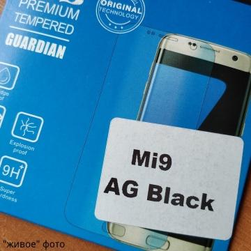 Матовое защитное стекло AG Matte Glass для смартфона Xiaomi Mi9, показатель по минералогической шкале твёрдости 9H, в 3 раза более устойчиво к царапинам, чем обычная защитная плёнка, не влияет на чувствительность сенсора, антибликовое покрытие, олеофобное покрытие, набор для подклеивания краёв защитного стекла, liquid, Киев