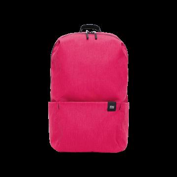 Рюкзак Xiaomi Mi Small Backpack, водоотталкивающий полиэстер, 4 кармана, застёжки-молнии группы компаний YKK (Япония), пластиковые пряжки ТМ Nx Lite от группы компаний ITW (США), удобные заплечные ремни, ручка для переноски рюкзака в руке, логотип Mi, чёрный, тёмно-синий, голубой, зелёный, жёлтый, оранжевый, бордовый, розовый, объём 10 л, Киев