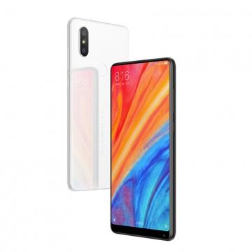 Смартфон Xiaomi Mi Mix 2S (6 + 128 Гб, Global Version), керамическая задняя крышка с алюминиевой рамой, 2 SIM-карты, 3G CDMA, 4G LTE, Snapdragon 845, 6 Гб RAM + 128 Гб ROM, экран 5,99'' IPS 2160 * 1080, 18:9, 2,5D, Gorilla Glass 4, двойная основная камера 12 MP + 12 MP, аккумулятор 3400 мА/ч, сканер отпечатков пальцев, Wi-Fi, Bluetooth 5.0, GPS, NFC, OTG, aptX, aptX-HD, USB Type-C, MIUI 10, Android 8.1, УКРАЇНСЬКА МОВА, РУССКИЙ ЯЗЫК, GOOGLE PLAY, чёрный, белый, Киев