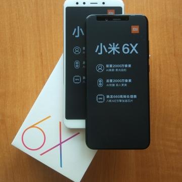 Смартфон Xiaomi Mi6X (6 + 64 Гб, с поддержкой CDMA), цельнометаллический корпус, 2 SIM-карты, 4G LTE, Snapdragon 660, 6 Гб RAM + 64 Гб ROM, экран 5,99'' IPS 2160 * 1080, 18:9, 2,5D, двойная основная камера 20 MP + 12 MP, селфи камера 20 MP, светодиодные вспышки на основной и на селфи камерах, аккумулятор 3010 мА/ч, сканер отпечатков пальцев, Wi-Fi, Bluetooth 5.0, GPS, OTG, инфракрасный порт, USB Type-C, MIUI 9, Android 8.1, УКРАЇНСЬКА МОВА, РУССКИЙ ЯЗЫК, GOOGLE PLAY, Киев