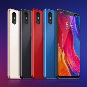 Смартфон Xiaomi Mi8 SE (6 + 64 Гб, с поддержкой CDMA), стеклянный корпус с алюминиевой рамой, 2 SIM-карты, 4G LTE, Snapdragon 710, 6 Гб RAM + 64 Гб ROM, экран 5,88'' AMOLED 2244 * 1080, 18,7:9, Gorilla Glass, двойная основная камера 12 MP + 5 MP, селфи камера 20 MP, светодиодные вспышки на основной и на селфи камерах, аккумулятор 3120 мА/ч, Quick Charge 3.0, сканер отпечатков пальцев, Wi-Fi, Bluetooth 5.0, GPS, OTG, инфракрасный порт, USB Type-C, MIUI 10, Android 8.1, УКРАЇНСЬКА МОВА, РУССКИЙ ЯЗЫК, Киев