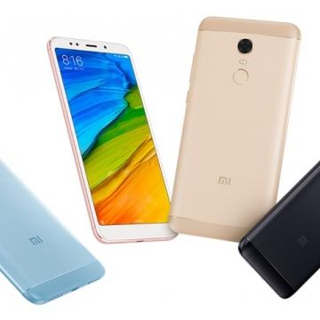 Смартфон Xiaomi RedMi 5 Plus (4 + 64 Гб), алюминиевый корпус с пластиковыми вставками, 2 SIM-карты, Intertelecom, Интертелеком, процессор Snapdragon 625, Adreno 506, 4 Гб RAM + 64 Гб ROM, экран 5,99'' IPS 2160*1080, 18:9, 2,5D, камера 12 MP, светодиодная вспышка, аккумулятор 4000 мА/ч, сканер отпечатков пальцев, Wi-Fi, Bluetooth 4.2, GPS, FM Radio, OTG, инфракрасный порт, MIUI 9, Android 7.1.2, УКРАЇНСЬКА МОВА, РУССКИЙ ЯЗЫК, GOOGLE PLAY, Киев