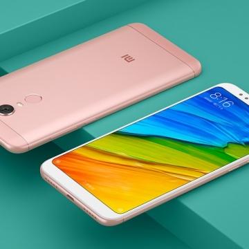 Смартфон Xiaomi RedMi 5 Plus (4 + 64 Гб), алюминиевый корпус с пластиковыми вставками, 2 SIM-карты, процессор Snapdragon 625, Adreno 506, 4 Гб RAM + 64 Гб ROM, экран 5,99'' IPS 2160*1080, 18:9, 2,5D, камера 12 MP, светодиодная вспышка, аккумулятор 4000 мА/ч, сканер отпечатков пальцев, Wi-Fi, Bluetooth 4.2, GPS, FM Radio, OTG, инфракрасный порт, MIUI 9, Android 7.1.2, УКРАЇНСЬКА МОВА, РУССКИЙ ЯЗЫК, GOOGLE PLAY, Киев