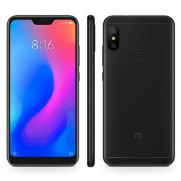 Смартфон Xiaomi RedMi 6 Pro (3 + 32 Гб), алюминиевый корпус, 2 SIM-карты, 4G LTE, CDMA, Snapdragon 625, 3 Гб RAM, 32 Гб ROM, экран 5,84'' IPS 2280 * 1080, 19:9, 2,5D, двойная основная камера 12 MP + 5 MP, аккумулятор 4000 мА/ч, сканер отпечатков пальцев, Wi-Fi, Bluetooth 4.2, GPS, OTG, инфракрасный порт, MIUI 10, Android 8.1, Киев