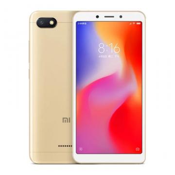 Смартфон Xiaomi RedMi 6A (2 + 32 Гб, Global Version), 2 SIM-карты, 4G LTE, MediaTek Helio A22, PowerVR VE 8320, 2 Гб RAM + 32 Гб ROM, экран 5,45'' IPS 1440*720, 18:9, камера 13 MP, светодиодная вспышка, аккумулятор 3000 мА/ч, Wi-Fi, Bluetooth 4.2, GPS, FM Radio, OTG, microUSB, MIUI 10, Android 9 | УКРАЇНСЬКА МОВА, РУССКИЙ ЯЗЫК, GOOGLE PLAY, Киев