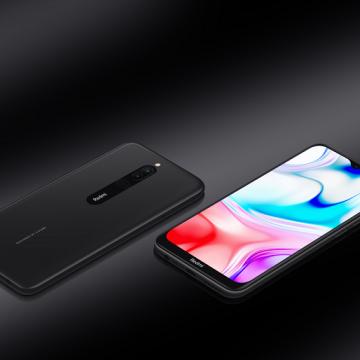 Смартфон Xiaomi Redmi 8 (4 + 64 Гб, Global Version, чёрный)
