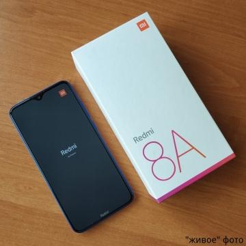 Смартфон Xiaomi Redmi 8A (4 + 64 Гб, с поддержкой CDMA), 2 SIM-карты, 3G CDMA, 4G LTE, Snapdragon 439, 4 Гб RAM + 64 Гб ROM, отдельный слот для карт памяти до 512 Gb, экран 6,2'' IPS 1520 * 720, 19:9, основная камера 12 MP, селфи камера 8 MP, светодиодная вспышка, акумулятор 5000 мА/ч, быстрая зарядка 18 Вт, Wi-Fi, Bluetooth 4.2, GPS, FM Radio, OTG, USB Type-C, MIUI 12, Android 10, УКРАЇНСЬКА МОВА, РУССКИЙ ЯЗЫК, GOOGLE PLAY, Киев