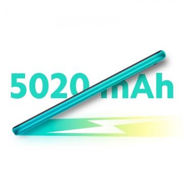 Смартфон Xiaomi Redmi 9 (6 + 128 Гб), WCDMA, CDMA EVDO, 4G LTE, MTK Helio G80, 2,0 ГГц, Mi Turbo 2.0, Game Turbo 2.0, RAM 6 Гб, ROM 128 Гб, слот для карт памяти до 512 Гб, экран 6,53'' IPS 2340 * 1080, Gorilla Glass 3, 4 основные камеры: 13 МП + 8 МП + 5 МП + 2 МП, фронтальная камера 8 МП, разблокировка по лицу, Wi-Fi, Bluetooth 5.0, FM Radio, GPS, OTG, сканер отпечатков пальцев, инфракрасный порт, аккумулятор 5020 мА/ч, быстрая зарядка, USB Type-C, аудио джек 3,5 мм, MIUI 11, Android 10, Киев