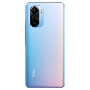 Смартфон Xiaomi Redmi K40, стеклянный корпус, 2 SIM-карты, 2G, 3G, 4G, 5G, CDMA, Snapdragon 870, 12 Гб RAM + 256 Гб ROM, экран 6,67'' AMOLED, частота обновления 120 Гц, Gorilla Glass 5, 3 основные камеры 48 МП + 8 МП + 5 МП, селфи камера 20 МП, аккумулятор 4520 мА/ч, быстрая зарядка 33 Вт, боковой сканер отпечатков пальцев, Wi-Fi 6, Bluetooth 5.1, GPS, OTG, NFC, Hi-Res Audio, Hi-Res Audio Wireless, Dolby Atmos, стереодинамики, ИК порт, USB Type-C, MIUI 12,5, Android 11, УКРАЇНСЬКА МОВА, РУССКИЙ ЯЗЫК, Киев