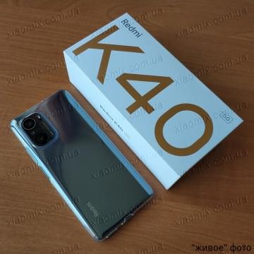 Смартфон Xiaomi Redmi K40, стеклянный корпус, 2 SIM-карты, 2G, 3G, 4G, 5G, CDMA, Snapdragon 870, 6 Гб RAM + 128 Гб ROM, экран 6,67'' AMOLED, частота обновления 120 Гц, Gorilla Glass 5, 3 основные камеры 48 МП + 8 МП + 5 МП, селфи камера 20 МП, аккумулятор 4520 мА/ч, быстрая зарядка 33 Вт, боковой сканер отпечатков пальцев, Wi-Fi 6, Bluetooth 5.1, GPS, OTG, NFC, Hi-Res Audio, Hi-Res Audio Wireless, Dolby Atmos, стереодинамики, ИК порт, USB Type-C, MIUI 12,5, Android 11, УКРАЇНСЬКА МОВА, РУССКИЙ ЯЗЫК, Киев