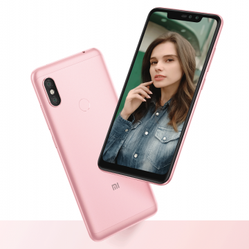 Смартфон Xiaomi RedMi Note 6 Pro (3 + 32 Гб, Global Version), алюминиевый корпус, 2 SIM-карты, 3G WCDMA, 4G LTE, Snapdragon 636, Adreno 509, 3 Гб RAM + 32 Гб ROM, экран 6,26'' IPS 2280 * 1080, 19:9, 2,5D, Gorilla Glass, двойная основная камера 12 MP + 5 MP, двойная селфи камера 20 MP + 2 MP, аккумулятор 4000 мА/ч, сканер отпечатков пальцев, Bluetooth 5.0, GPS, FM Radio, OTG, инфракрасный порт, MIUI 10, Android 8.1, УКРАЇНСЬКА МОВА, РУССКИЙ ЯЗЫК, GOOGLE PLAY, Киев